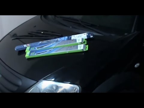 How to replace the car's wipers. Citroen C3. Video 19 of 19