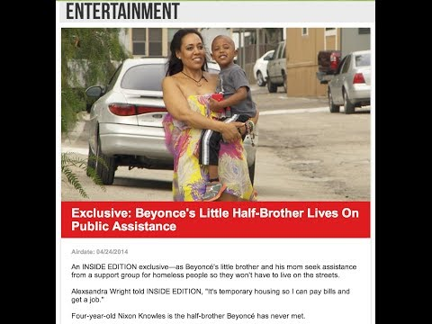 The #beyhive sends Alexsandra Wright death threats now she's forced to live in a trailer park