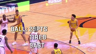 Lonzo Ball highlights from first two games   ESPN