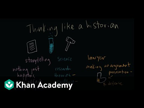 Thinking like a historian | The historian's toolkit | US History | Khan Academy