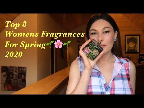 Top 8 Women's Fragrances For Spring 2020