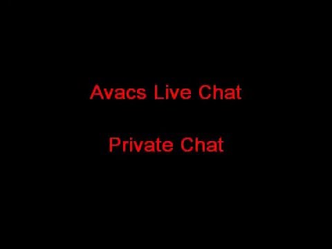 Avacs Live Chat  Private Chat