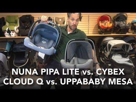 Nuna Pipa Lite Vs Cybex Cloud Q, Nuna Pipa Car Seat Review Magic Beans
