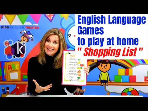 Supermarket Learning Activities for children