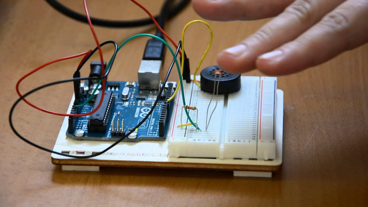 Arduino light theremin youtube