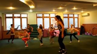Детский фитнес. Открытый урок. Танец 2.
