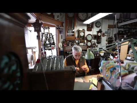 Clock Master: The Process Of Cleaning A Clock