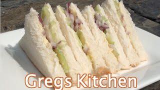 Red Onion Celery Sandwich - Finger Food Recipe