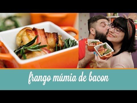 Frango Múmia de Bacon | Cozinha para 2