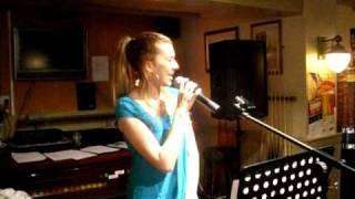 The winner takes it all (ABBA) - Sang by Vicky Scrase at The Dragoon, Brampton