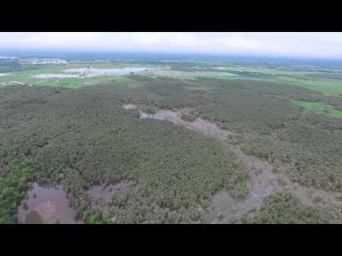การบินโดรนสำรวจพื้นที่ชุ่มน้ำ (Ramsar Site) ทะเลน้อย จ.พัทลุง