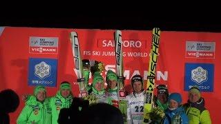 ❆2016.1.30 FIS SKI JUMPING WORLD CUP Sapporo  スロベニア軍団全部持って行きました 2016.1.30 スキージャンプワールドカップ 札幌