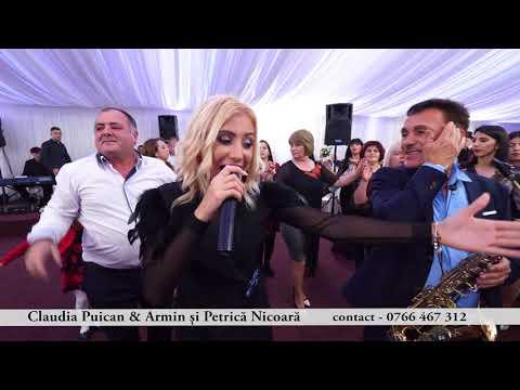 Claudia Puican & Armin Nicoara si Petrica Nicoara - Colaj de petrecere - LIVE 2018