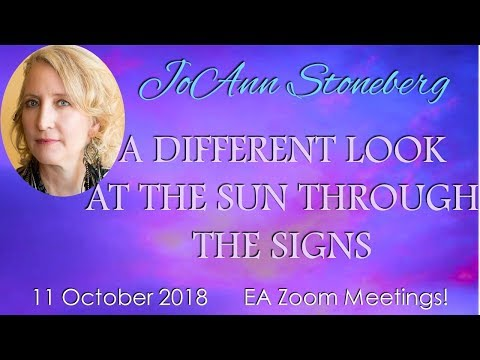 JoAnn Stoneberg – A DIFFERENT LOOK AT THE SUN THROUGH THE HOUSES