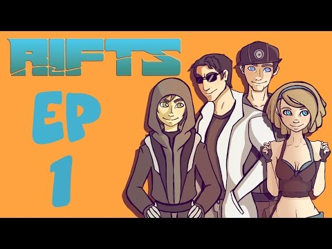 Rifts RPG Campaign Part 1