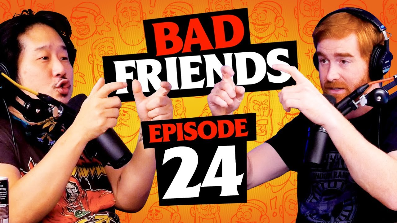 Call of Duty: Emotional Warfare | Ep 24 | Bad Friends with Andrew Santino and Bobby Lee
