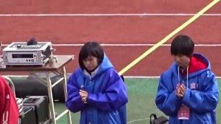 第34回女子全国都道府県対抗駅伝 第6区選手紹介 2016.01.17 於:西京極...