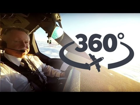 LOT Dreamlinera 360° widok z kokpitu! ✈ OPERACJA: LOT | 360° cockpit view take off