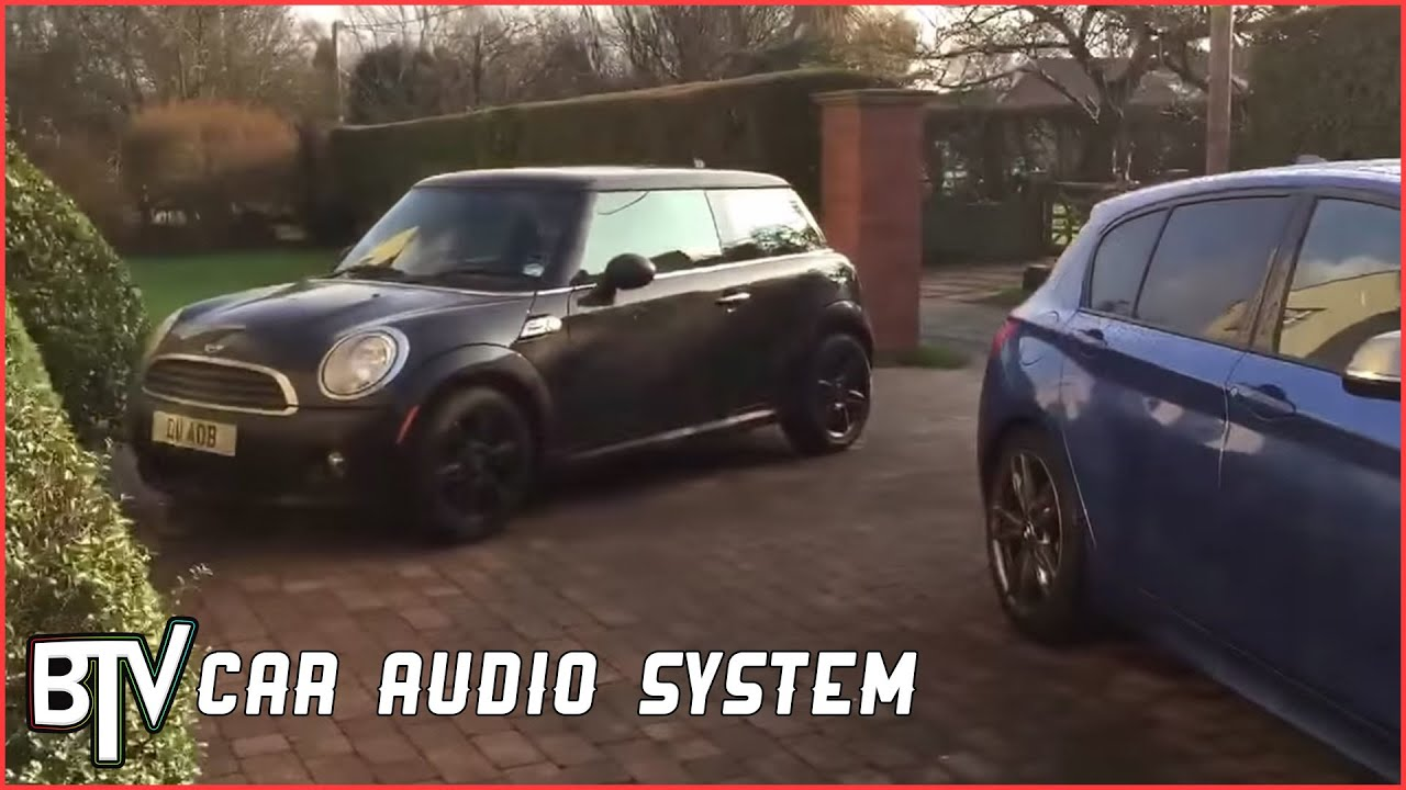 Mini Ones Custom Audio System Install Youtube 2003 Cooper Radio Wiring