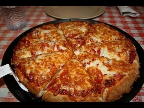 صورة  طريقة عمل البيتزا طريقة  البيتزا هت في المنزل - How to Make a Pizza Hut طريقة عمل البيتزا من يوتيوب