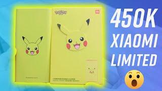 Sạc dự phòng cực chất giá 450k: Xiaomi Mi Power Bank 3 Pikachu Edition
