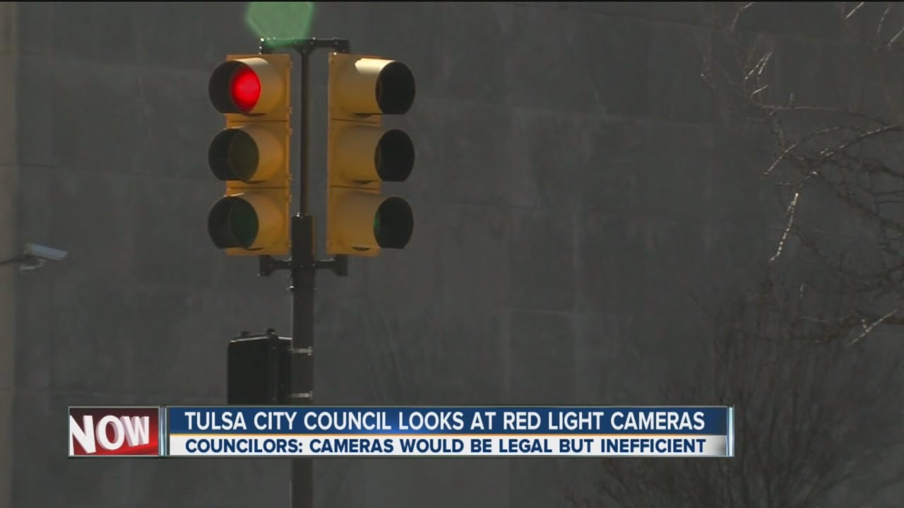 City Of Tulsa Looks At Red Light Cameras