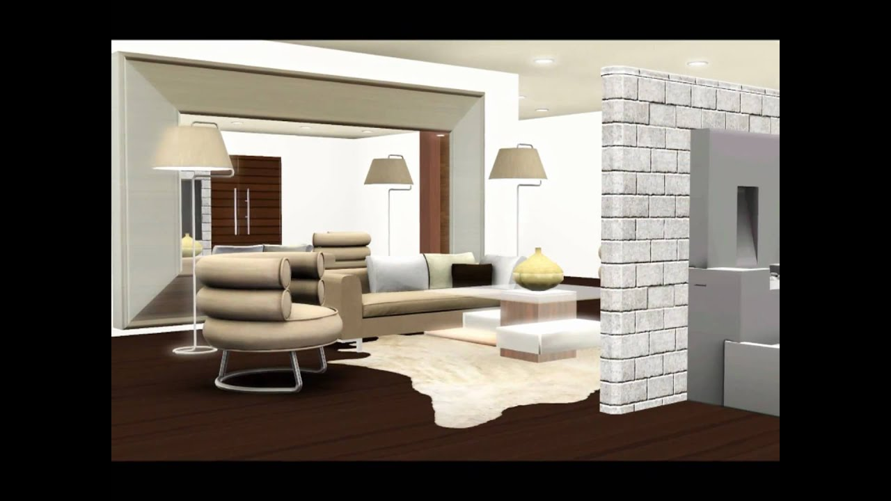 les sims 3 maison ultra moderne ventana blog. Black Bedroom Furniture Sets. Home Design Ideas
