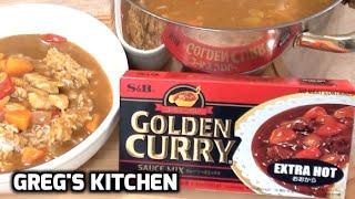 JAPANESE GOLDEN CURRY - How To Make / Taste Test - Greg's Kitchen
