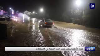 غزارة الامطار تكشف ضعف البنية التحتية في المحافظات
