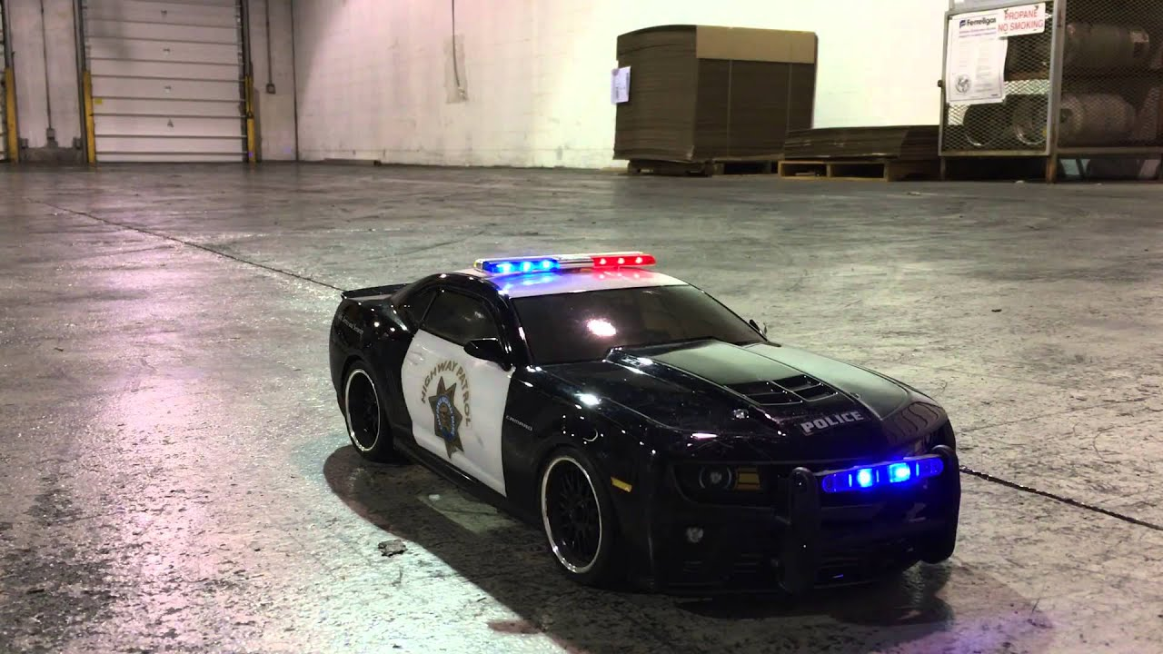Rc Police Car With Lights And Siren Youtube