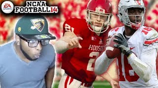 OHIO ST vs INDIANA Pump Up Game!!! NCAA FOOTBALL 14 College Football Play Through