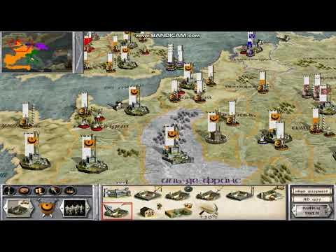 Medieval Total War. Фракция Альмохады 27-я серия Фрисландия и Франкония.