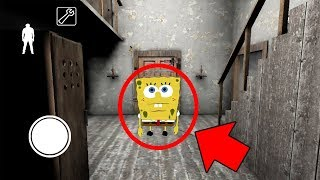 We Found SPONGEBOB in GRANNY Horror Game MULTIPLAYER (Granny Mobile Horror Game)
