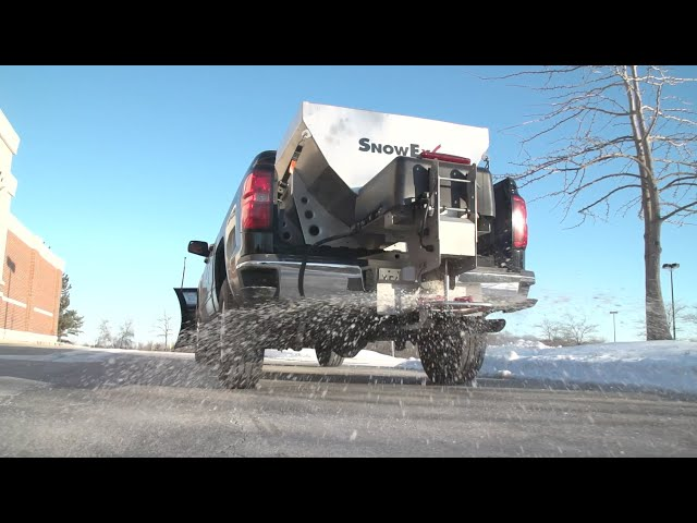 SnowEx® HELIXX™ Stainless Steel Hoppers