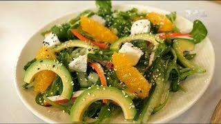 Салат з крабовими паличками і фетою – рецепти Сенічка