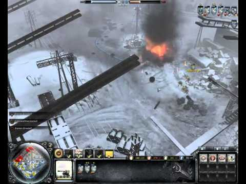 Company of Heroes 2 # Commander  Lend Lease Tactics (Map vielsalm)