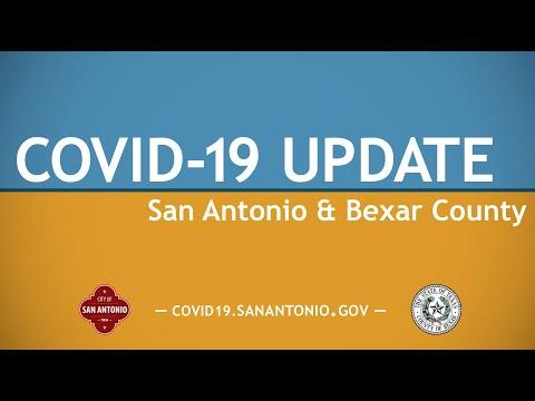 COVID-19 Update San Antonio And Bexar County 9/18/20