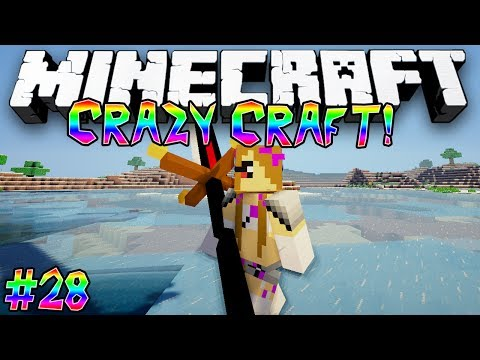 """Angry Girlfriends!"" - CRAZY CRAFT (MINECRAFT MODDED SURVIVAL) - #28"