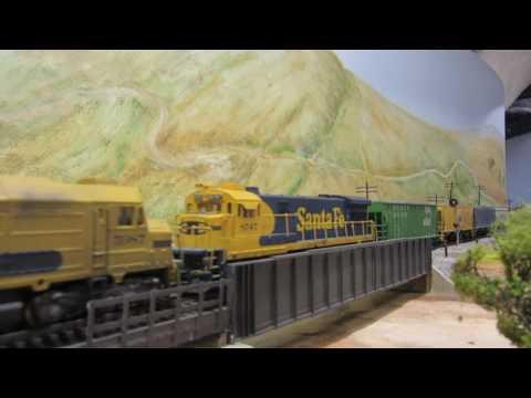 La Mesa Model Railroad Club Action Part1 61 to 627