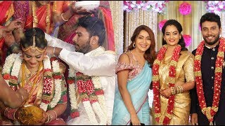 Full Video: Actor Shivakumar – Actress Suja Varunee Wedding and Reception