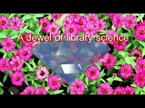 A jewel of library science - Dr. P. S. G. Kumar