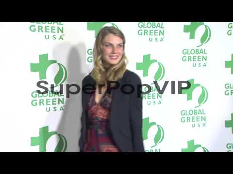 Angela Lindvall at Global Green USA's 10th Annual Pre-Osc...