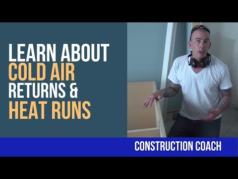 Learn about Cold Air Returns & Heat Runs - DIY