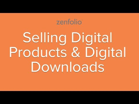 Selling Digital Products & Digital Downloads - Learn how to sell your photos online