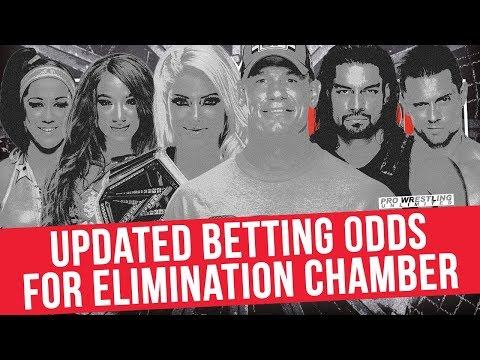 Updated Betting Odds for Sunday's Elimination Chamber