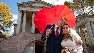 Съемка видео, Свадебный клип - прогулка в Архангельское, загс Таганский.