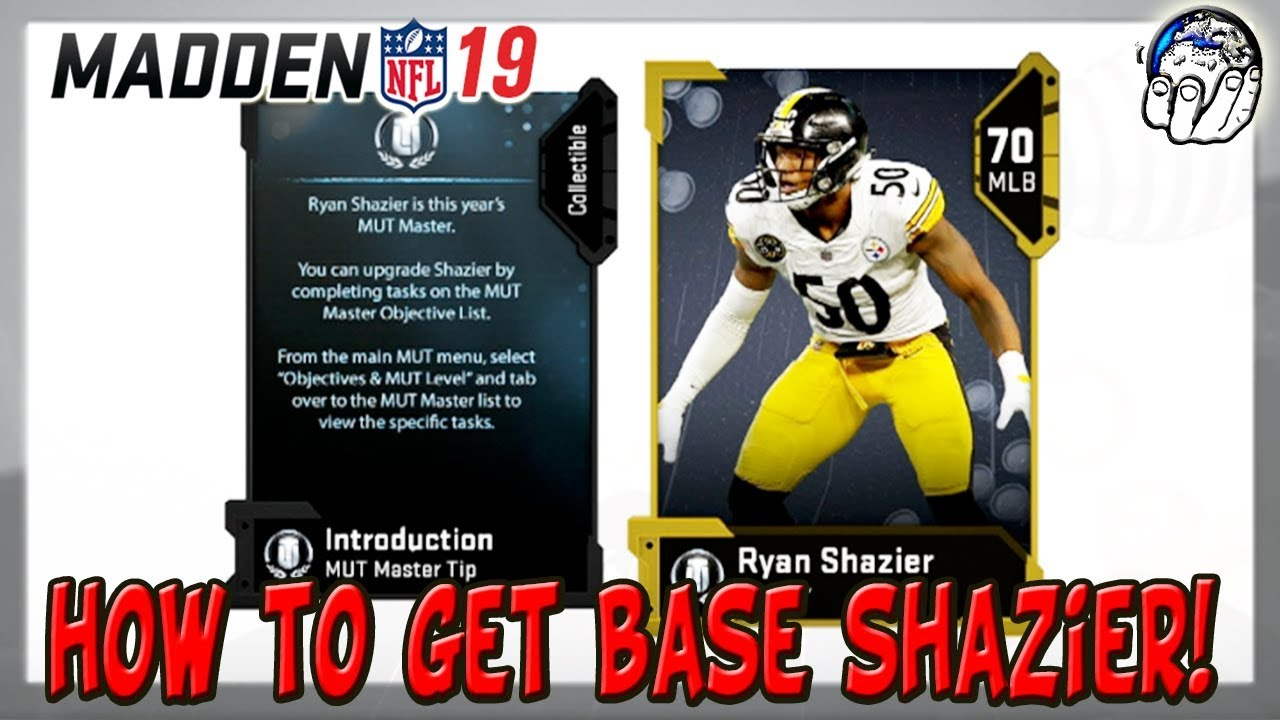 455e096b21d How to get the base Ryan Shazier MUT Master Item