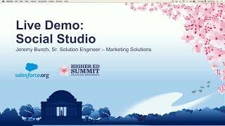 Live Demo: Social Studio