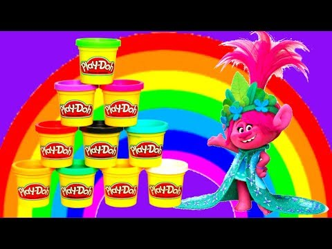 Play-Doh & Trolls toys. Videos for kids.