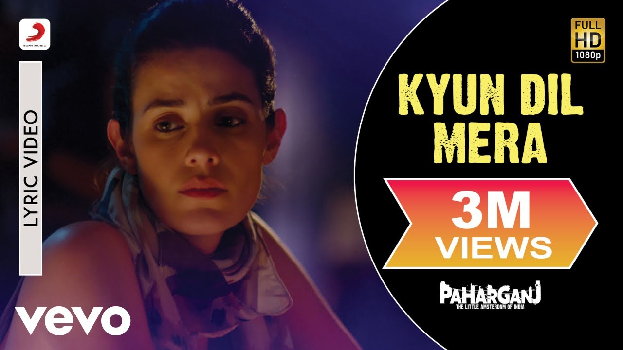 Kyun Dil Mera - Mohit Chauhan | Official Lyric Video | Ajay Singha